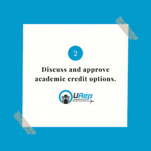 2. Discuss and approve academic credit options.