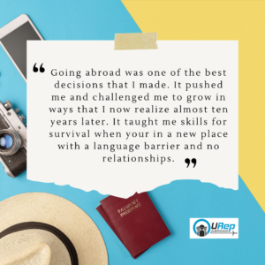 4. Story 1 - Study Abroad prepares for the workforce.